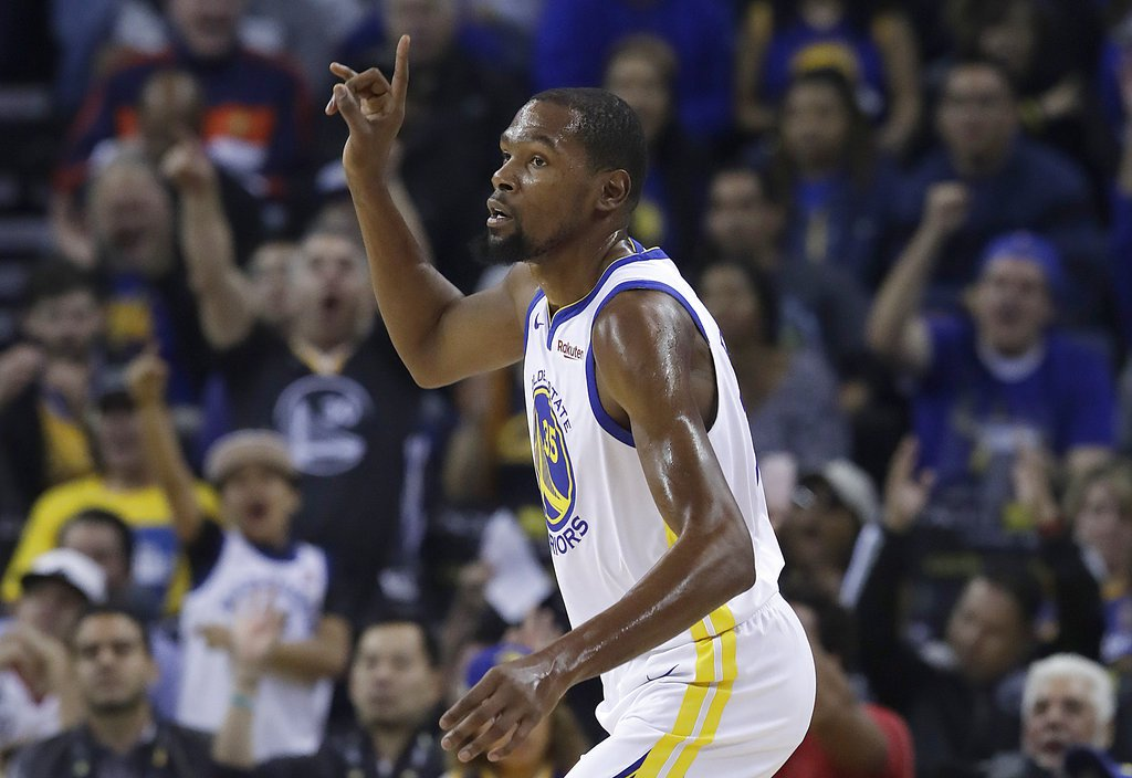 fd92ce379be Kevin Durant has lately been shining with Warriors as he showed that he can  too
