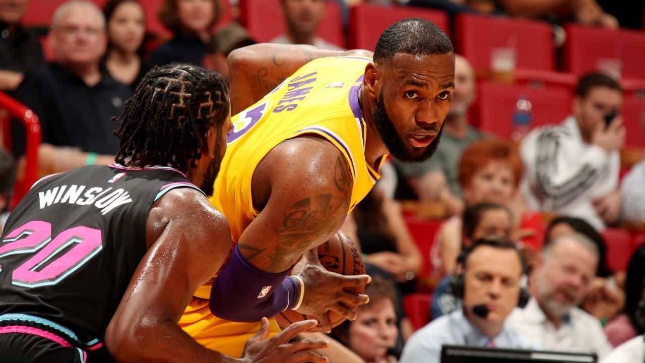 492f8c5f3694 This was James  first time in South Florida after joining the Lakers and he  made it memorable with his impressive season high performance of 51 points.