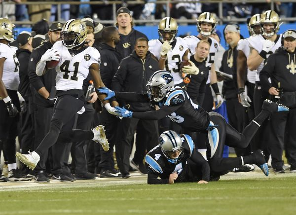 7a2a2dd2 New Orleans Saints 12-9 Carolina Panthers; Saints close in on top ...